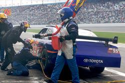 Pitstop Michael McDowell, Prism Motorsports Toyota