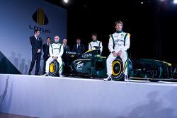 all Senior members of F1 Team lotus