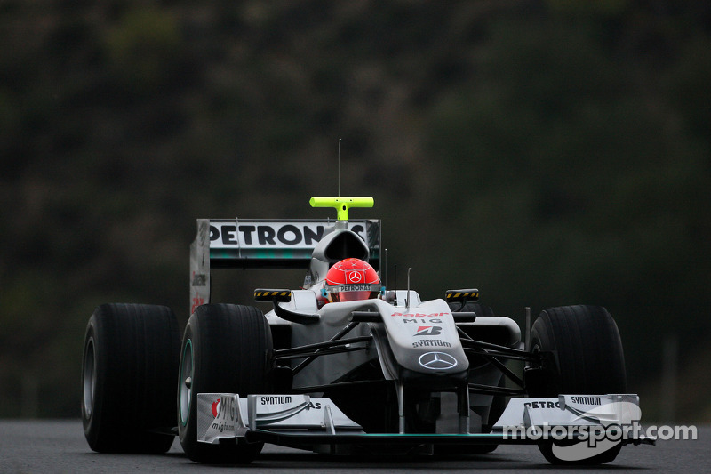 Michael Schumacher, Mercedes GP, W01