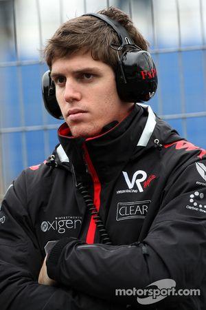 Luiz Razia, Piloto de pruebas de Virgin Racing