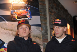 Kimi Raikkonen en Kaj Lindstrom, Citroën C4 WRC, Citroën Junior Team