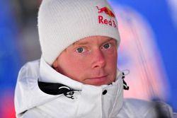Auto Skoda Fabia S2000 de Patrik Sandell, Red Bull Rallye Team