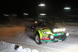Khalid Al Qassimi and Michael Orr, Ford Focus RS WRC 08, BP Ford Abu Dhabi World Rally Team