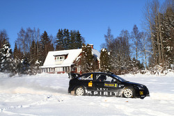 Auto Ford Focus RS WRC 08 de Marcus Gronholm y Timo Rautianen, Stobart VK M-Sport Ford Rally Team
