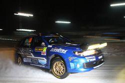 Patrick Flodin en Goran Bergsten, Subaru Impreza
