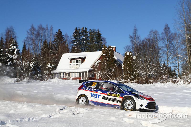 Janne Tuohino and Markku Tuohino, Ford Fiesta S2000