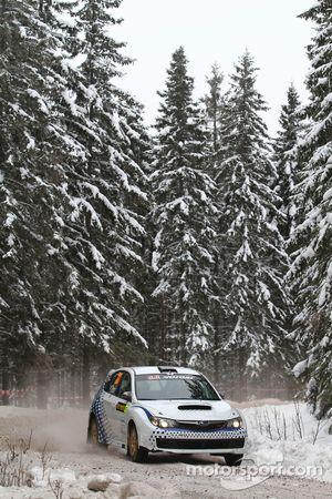 Subaru Impreza STI de Gianluca Linari y Paolo Gregoriani