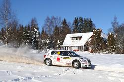 Skoda Fabia S2000 de Per-Gunnar Andersson y Anders Fredriksson