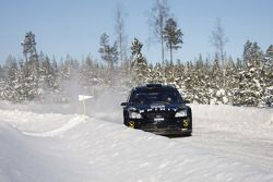 Marcus Gronholm et Timo Rautianen, Ford Focus RS WRC 08, Stobart VK M-Sport Ford Rally Team