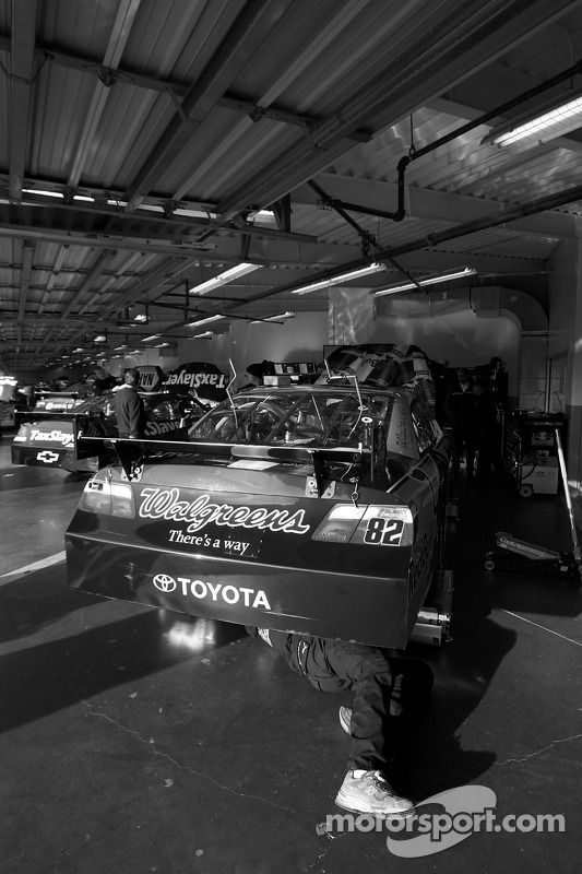 Red Bull Racing Team Toyota garage
