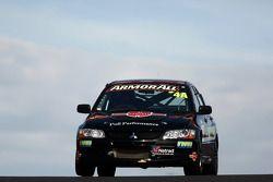 #4 Greg Murphy Racing, Mitsubishi Evo 8 RS: Jim Pollicina, John O'Dowd, Simon Middleton