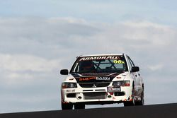 #96 Supabarn Supermarkets Pty Ltd, Mitsubishi Evo 9 RS: James Koundouris, Theo Koundouris, Steve Owen