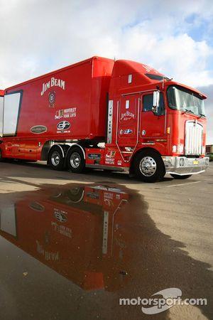 Jim Beam Racing vrachtwagen
