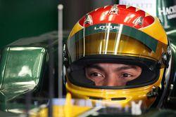 Fairuz Fauzy, piloto de pruebas del Equipo Lotus F1 - Pruebas de Fórmula 1, Jerez, España
