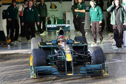 Fairuz Fauzy, piloto de pruebas del Equipo Lotus F1, T127