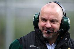Mike Gascoyne, oficial técnico en jefe del Equipo Lotus F1