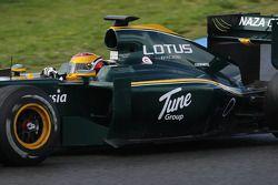 Fairuz Fauzy, piloto de pruebas, Equipo Lotus F1 , T127- Pruebas de Fórmula 1, Jerez, España