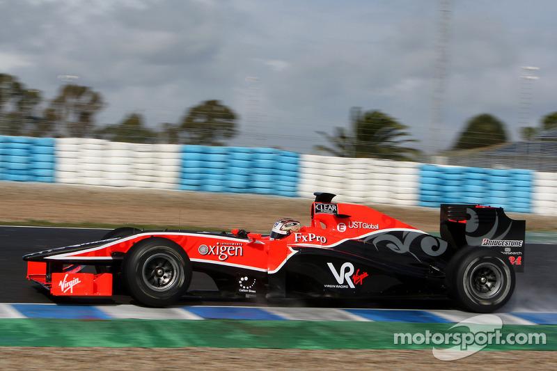 Timo Glock, Virgin Racing VR-01