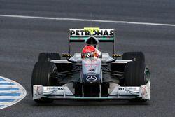 Michael Schumacher, Mercedes GP Petronas, W01