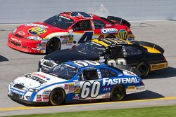 Carl Edwards, Scott Riggs y Tony Stewart