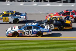 Carl Edwards, Scott Riggs, Dale Earnhardt Jr. y Tony Stewart