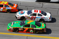 Danica Patrick y Mike Wallace