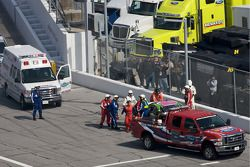 Accident pour Chrissy Wallace