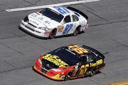 Steve Wallace and Dale Earnhardt Jr.