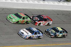 Carl Edwards, Kyle Busch, Joey Logano and Kevin Harvick