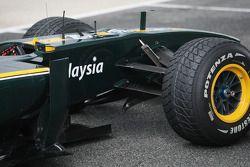 Detalle del Lotus F1 Team, T127,