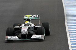 Nico Rosberg, Mercedes GP Petronas, W01