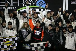 Victory lane: le vainqueur Timothy Peters