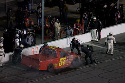 Norm Benning in the pit