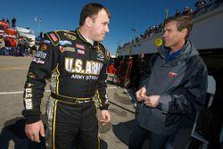 Ryan Newman, Stewart-Haas Racing Chevrolet avec Ray Evernham