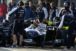 Nico Hulkenberg, Williams F1 Team, practice pit stops