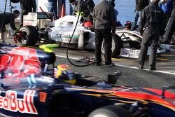 Michael Schumacher, Mercedes GP Petronas, Jaime Alguersuari, Scuderia Toro Rosso
