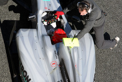 Michael Schumacher, Mercedes GP Petronas, detay