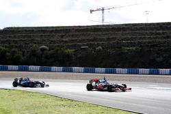 Michael Schumacher, Mercedes GP Petronas, Jenson Button, McLaren Mercedes