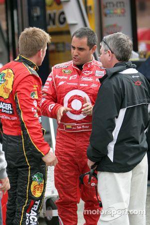 Jamie McMurray, Earnhardt Ganassi Racing Chevrolet en Juan Pablo Montoya, Earnhardt Ganassi Racing C