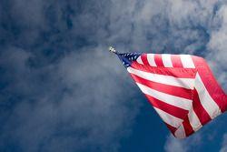 Een Amerikaanse vlag