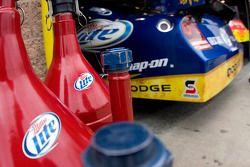 Penske Racing Dodge garage