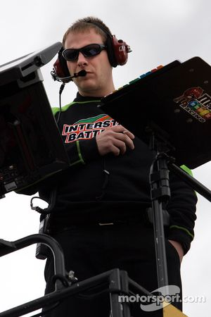Dave Rogers, crew chief for the Kyle Busch, Joe Gibbs Racing Toyota
