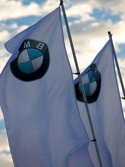 BMW Rahal Letterman Racing Team flags