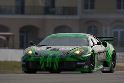 #02 Extreme Speed Motorsports Ferrari F430 GT: Ed Brown, Guy Cosmo, Joao Barbosa