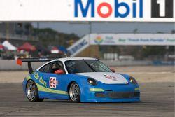 #69 Werks II/ P7 Racing Porsche 911 GT3 Cup: Robert Rodriquez, Galen Bieker