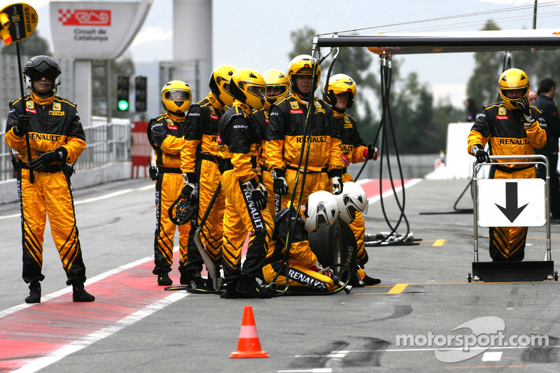 Renault F1 Team mecaniciens