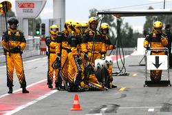 Mécaniciens Renault F1 Team