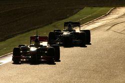 Lewis Hamilton, McLaren Mercedes y Pedro de la Rosa, BMW Sauber F1 Team
