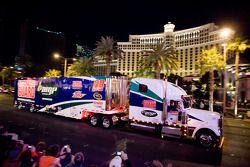 Défilé sur le Strip de Las Vegas