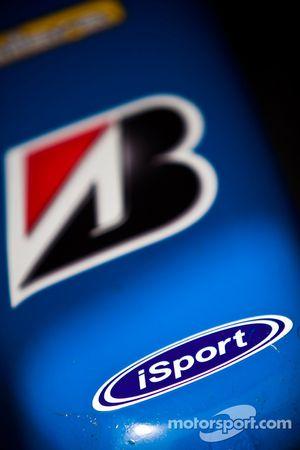 iSport en Bridgestone logo's